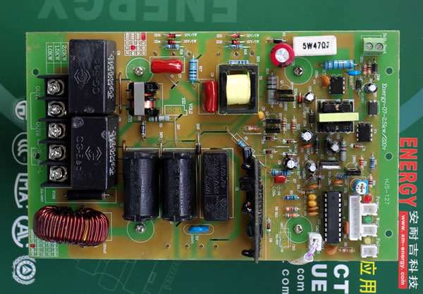 5kw)   二,电磁加热主板 半桥电磁加热环境适应能力 1,温度:-20℃~50